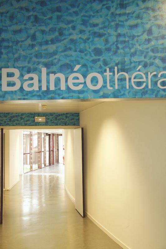 accès à la balnéothérapie