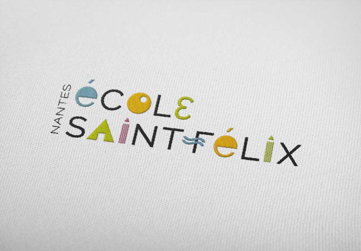 logo pour une école primaire nantaise