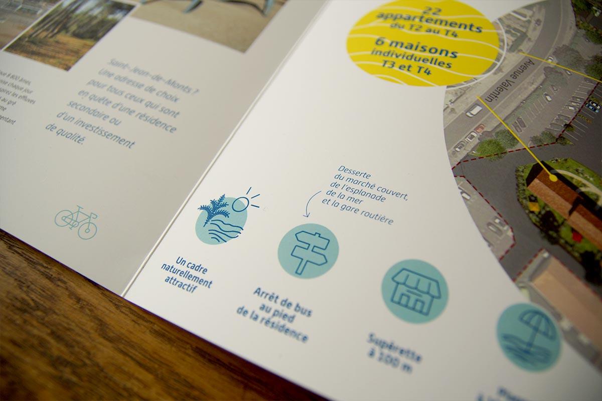 Détails graphiques d'un projet d'édition ECV Nantes