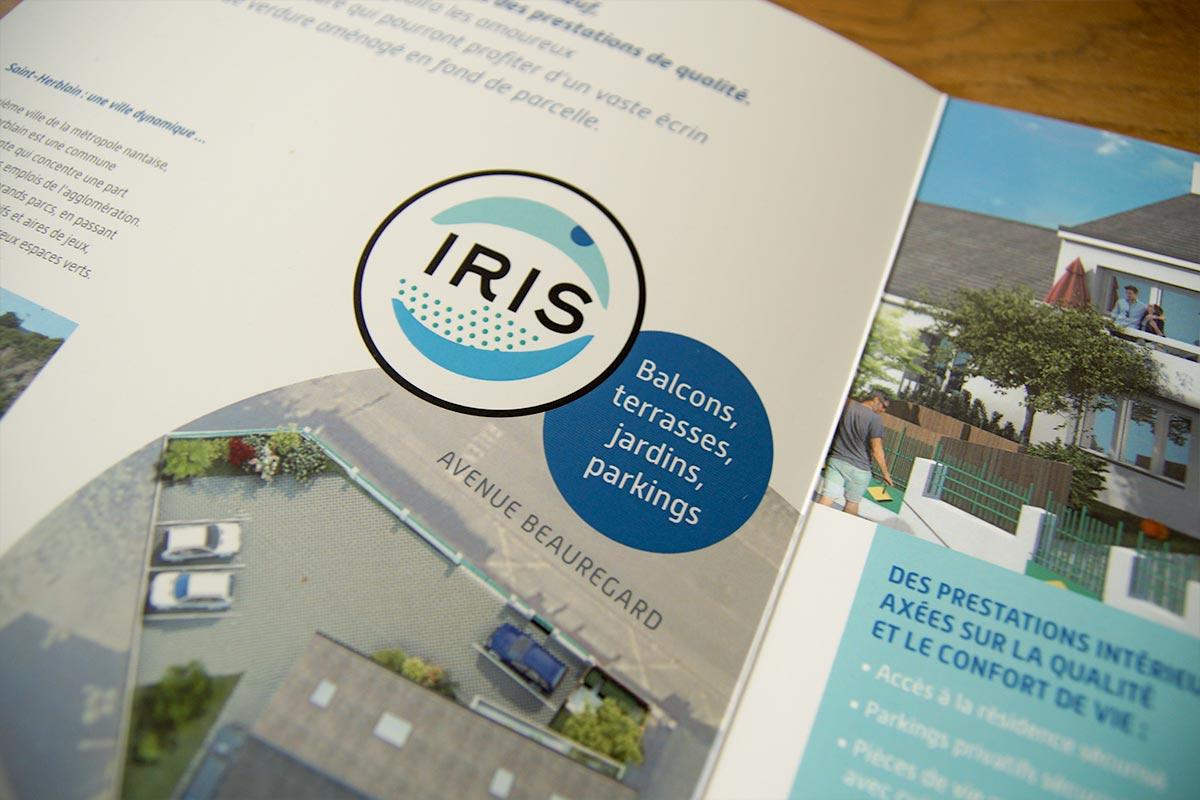 Logotype IRIS résidence
