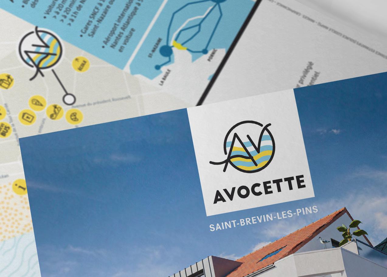 logotype Avocette immobilier