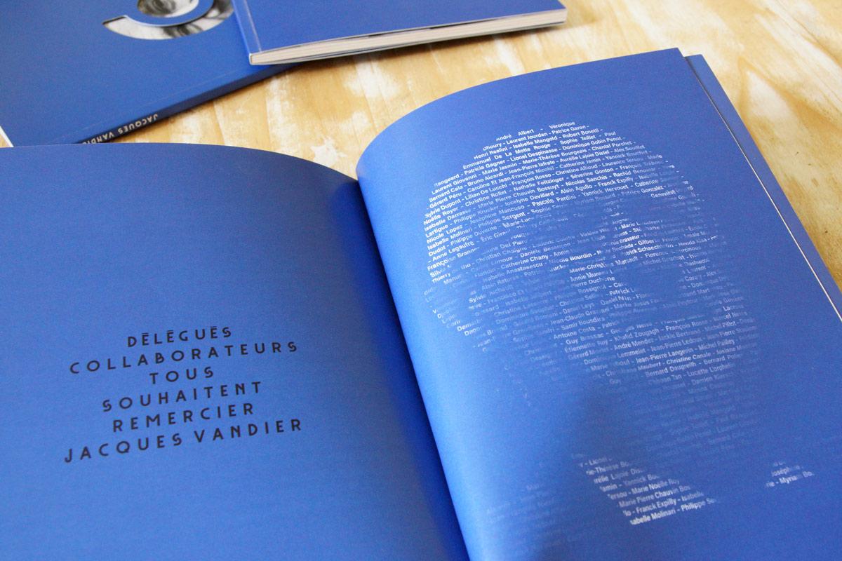 Portrait typographique